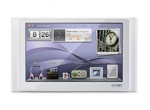 Новый мультимедийный плеер P8 от iriver