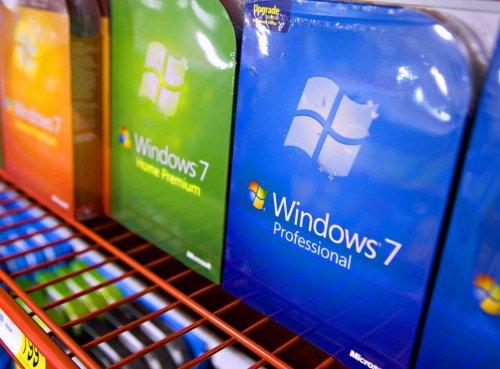 Удивительные темпы продаж Windows 7