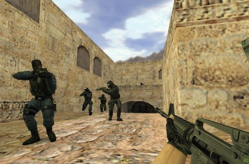 Мод Deathrun в Counter Strike.