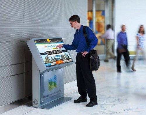 Сфера применения информационных терминалов