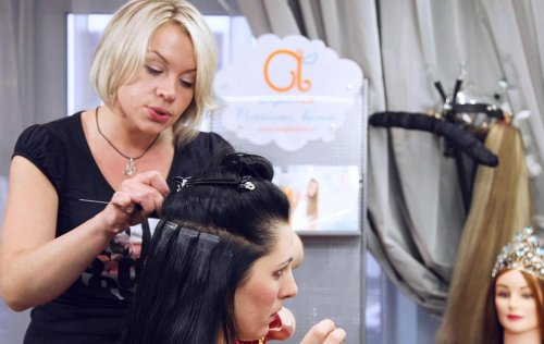 Наращивание волос от AngeloHair